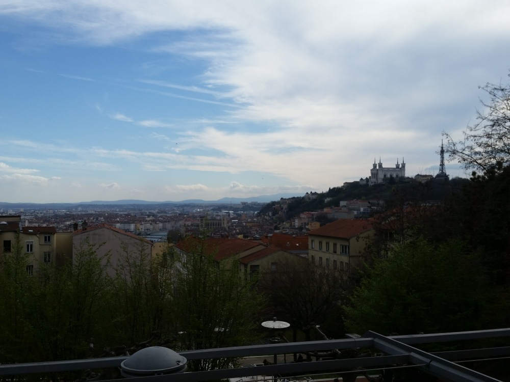 Lyon view from Croix Rousse