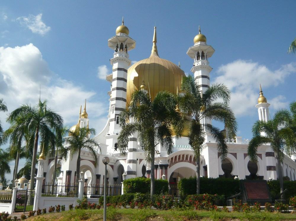 The beautiful Ubudiah Mosque in Kuala Kangsar
