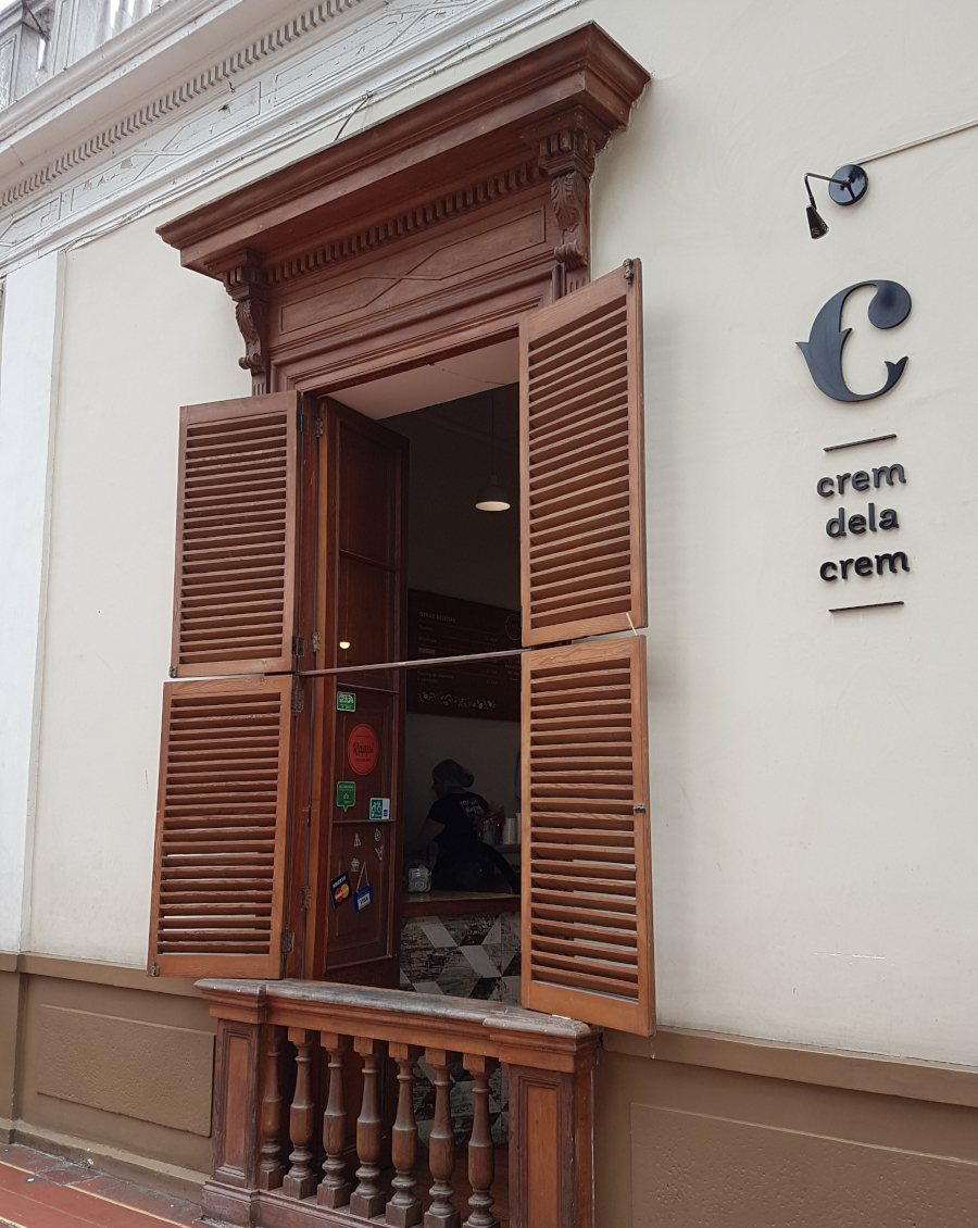 Crem dela Crem gelato shop, Barranco district, Lima, Peru